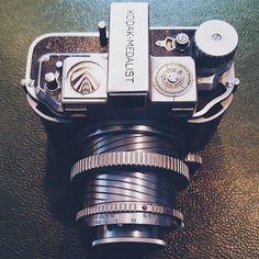 """""""KODAK-MEDALIST roll fill camera"""