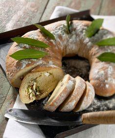 Bun Recipe, Bagel, Feta, Tasty, Cooking, Buns, Breads, Recipes, Kitchen
