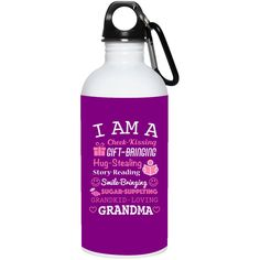 20 oz Stainless Steel Water Bottle Grandma-Grandmother