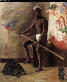 James Ensor Masks | James Ensor Masks Watching a Negro Minstrel