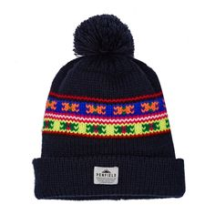 c02d25402c0e0 Penfield Neon Pattern Beanie Knitted Hats