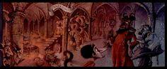 "Pavel Čech ""O čertovi"" Illustration Children, Children Books, Angels And Demons, Beauty And The Beast, Painting, Art, Children's Books, Art Background, Painting Art"
