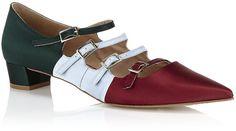 Kurt Geiger Lady Bell Satin Shoe in