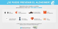 Infografia sobre como se puede prevenir el Alzheimer #DíaMundialAlzheimer
