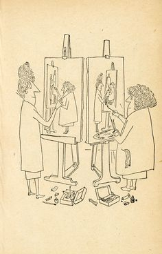 Steinberg's Genius Line The New Yorker, Saul Steinberg, Adrian Johnson, Disney Princess Cartoons, Looney Tunes Bugs Bunny, List Of Artists, Learn Art, Texture Art, Illustrations Posters