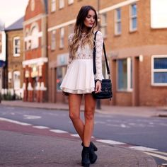 White lace for fall