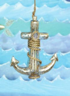 Mighty Ship Anchor Ornament