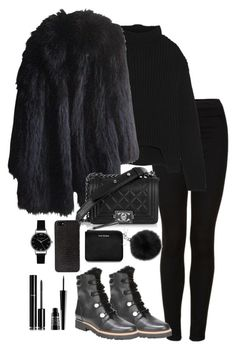 """""""Untitled #5055"""" by theeuropeancloset on Polyvore featuring Topshop, Franco Sarto, Michael Kors, Rick Owens, Sonia Rykiel, Acne Studios, DKNY, Lord & Berry, Chanel and Olivia Burton"""