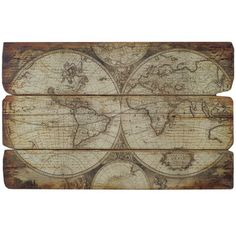 Import Collection Olde World Map   Wayfair