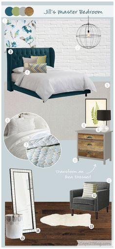 Beautiful Interior Design Concept Board With Jill Seidner