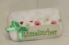 JanuarWeiß Taschentüchertasche *Rüsseltücher*  von byGretchen auf DaWanda.com
