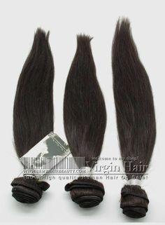 3Bundles / Lot Brazilian Hair Extensions Virgin Hair Straight