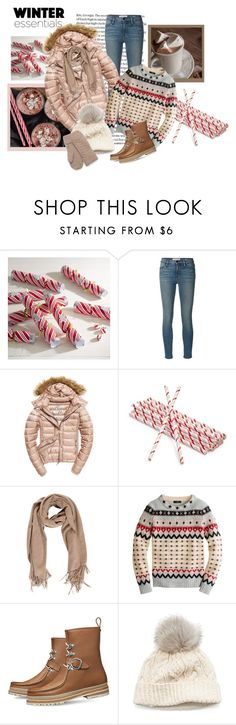 """Candy Canes-Winter Time!"" by traceysfashionoutlook ❤ liked on Polyvore featuring Pier 1 Imports, Frame, Fuji, Sur La Table, Acne Studios, J.Crew and SIJJL"