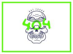404 skull