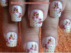 Branco do poder. #nail designer