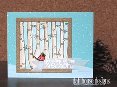 Card by SPARKS GDT Lisa Arana PS stamp sets: Warm Hearts, Autumn Grooves, Joyful Greetings; PS dies: Streamers