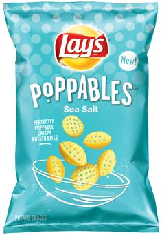 Popped Potato Bites Lay's 'Poppables' Introduce a New Strategy to Get pleasure from Potatoes as a Snack (hotnewstrend) Lays Chips Flavors, Potato Chip Flavors, Potato Chips, Potato Snacks, Potato Bites, Yummy Snacks, Snack Recipes, Salted Potatoes, Chips Brands