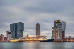 Wilhelminapier Rotterdam, Kop van Zuid, Cruise Terminal, Holland Amerika Lijn, Hotel New York