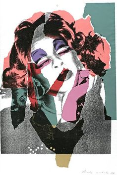Ladies and Gentleman, Andy Warhol, collage, 1975, drag queen