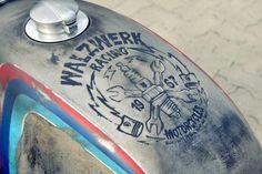 Werk Of Art: A hot-rodded BMW R80 cafe racer by Walzwerk Racing