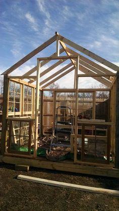 My Big Fat Greenhouse Project Part Deux