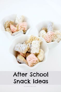 After School Snack Ideas - great for one on one conversation time with mom or dad | KristenDuke.com