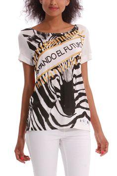 "Desigual T-Shirt ""Futur"", 41T2622 | Fun Fashion | Canada |"