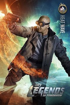 Mick Rory or Heat Wave played by Dominic Purcell