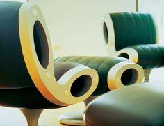 Gluon Chair 1993 - Moroso by Marc Newson Ltd
