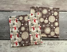 Christmas Coasters - Quilted Patchwork Coasters £12.00