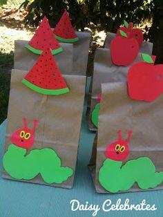 Daisy Celebrates!: The Very Hungry Caterpillar Birthday Party