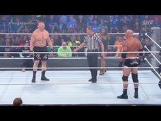 Brock Lesnar vs Goldberg | WWE Survivor Series 2016 | Goldberg Destroys Brock |