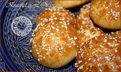 Recette de Krachel à l'orange-Brioches marocaines