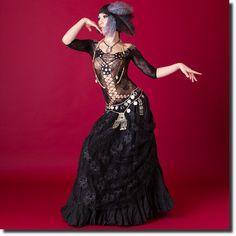 ボディストッキング(ミニドレスタイプ)【全3種】 | トライバル【全てを見る】 | | ベリーダンス衣装・通販 Fig