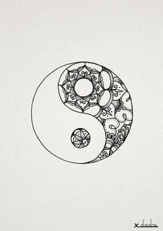 yin yang mandala - Google Search by della