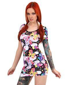 Liquor Brand Damen PEGASUS Kleid.Oldschool,Tattoo,Pin up,Custom,Biker Style