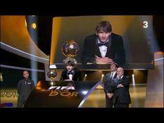 Lionel Messi Balón de Oro Golden Ball 2010 - FiFPro World XI Award 10/1/2011