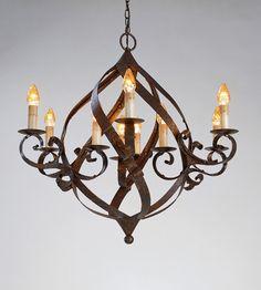 Currey & Company Gramercy 9 Light Chandelier in Mayfair 9528 #lightingnewyork #lny #lighting