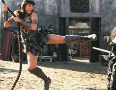 Xena kicking more butt! Lucy Lawless, Amazons Women Warriors, Female Knight, Lady Knight, F Movies, Xena Warrior Princess, Fantasy Warrior, Black Girls, Favorite Tv Shows