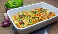 low carb Gemüsenudel-Auflauf Heute kommt wiederGemüse auf den Tisch und zwar so, wie ich es am liebsten mag… ganzbunt und als low carb Gemüsenudel-Auflauf. Dieses Malhabe ich ganz frischen…
