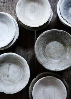 "I wonder if it is possible to obtain ""imperfects"" from studios? If so, a collection of small bowls and plates for serving at Rimon"" would be lovely. Yvonne Koné › Studio Oliver Gustav"