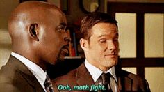 Numb3rs. This sums up the show so well. XD