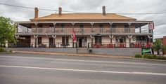 Light Horse Hotel Murrumburrah great Aussie heritage pub Accommodation. Easy book online accommodation. www.pubrooms.com.au Big Country, Land Of The Free, Best Location, Old And New, Colonial, Sweet Home, Australia, Horses