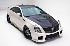 Liking the flat black with green accents - The Legionnaire by D3   D3 Cadillac Performance Parts