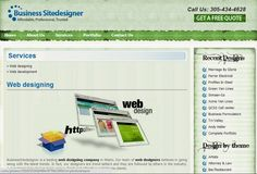 BusinessSitedesigner is a Miami-based website designing, website development, web hosting and SEO company. Everyone wants a beautiful, user-friendly, engaging, unique and customized website. Our proficient team at BusinessSitedesigner is expert in creating a website with the amalgamation of all the above elements.   visit us :- http://businesssitedesigner.com/