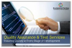 eTCS is a global technology service provider offering customer specific software and suitable testing needs. Testing Techniques, Control Flow, Software Testing, Mobile Application, Bugs, Engineering, Technology, Tech, Beetle