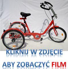 Rower trójkołowy trybik- film