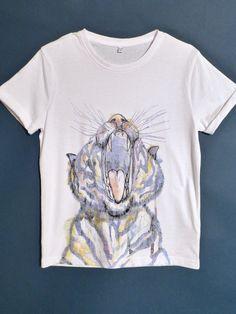 Tiger illustrative print for boyswear spring 2015 at Marks and Spencer