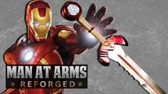 Iron Man's Sword- MAN AT ARMS: REFORDGED. [OH WOW!!!  These guys and gals are AWESOME!  This reminds me of my boys making custom swords when they were kids - EXCEPT ON STEROIDS.  You have to watch this video.]  AWE me - YouTube