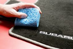 how to clean salt stains in your car